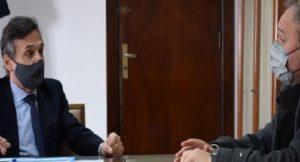 El intendente de Laguna Paiva se reunió con el Secretario de transporte de la Nacion