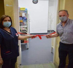 Laguna Paiva: habilitaron el remodelado office de enfermería en el SAMCo